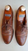 "MEZLAN Men's Brown FLORENCE Leather Lace Up Shoes Size 8 ½"" M Spain"