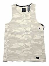 Abercrombie Fitch AF Jean Mens L Tan/Beige/Gray Military Camo Sport Tank T-Shirt
