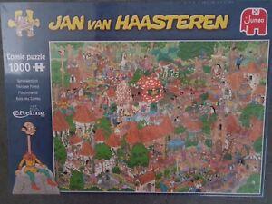 """Jan van Haasteren """"Fairytale Forest unopened brand new release."""