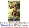 [NA]Fate Grand Order English FGO Fresh Starter account Gilgamesh+900-1000 SQ