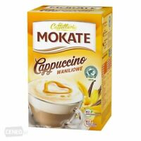 Mokate Cappuccino Waniliowe Instant Vanilla Coffee Mix 150g Box Free Shipping