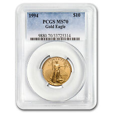 1994 1/4 oz Gold American Eagle MS-70 PCGS (Registry Set) - SKU #11317