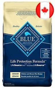 Blue Buffalo Life Protection Formula Senior Dog Food - Natural Dry Dog Food For