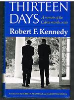 Thirteen Days by Robert F. Kennedy 1969 1st Ed. Vintage Book! $