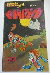 SIMON SIMONAZO comic CHISS parody KISS GENE simmons PAUL STANLEY HAUNTED GHOST