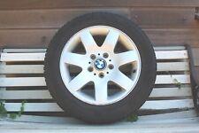 4 pneus hiver Michelin 205/55R16 91H montés sur 4 jantes alu BMW originales