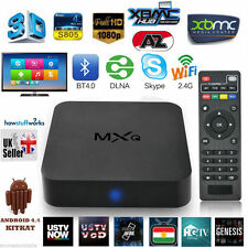 MXQ ANDROID 4.4 QUAD CORE XBMC INTERNET TV SMART BOX 1GB / 8GB DECODER IPTV t1