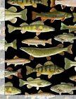 Different Fish on Black B/G-Timeless Treasures-Fat Quarter