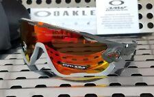 New Oakley JAWBREAKER 9290-3431 Aero Flight Sunglasses Matte Carbon /Prizm Ruby