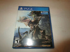 Monster Hunter World   for Ps4   Used in Very good condtion  Free Shipping