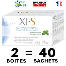 2 Boîtes XLS Tisane Laxative Minceur Régime Maigrir Thé Transit Detox Tea Menthe