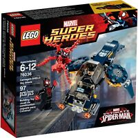 NEW LEGO Marvel Super Heroes Ultimate SpiderMan 76036 Carnages SHIELD Sky Attack