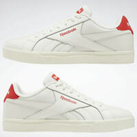 Men's Reebok Shoes  Royal Complete Low 3.0 White/Red Trainers EG9464 Size 7.5 UK