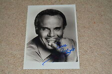 HARRY BELAFONTE signed Autogramm In Person 18x25 cm  CALYPSO