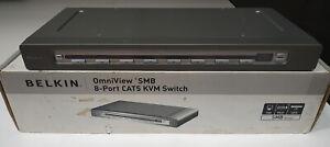 Belkin OmniView SMB 8-Port CAT5 KVM Switch F1DP108Aea