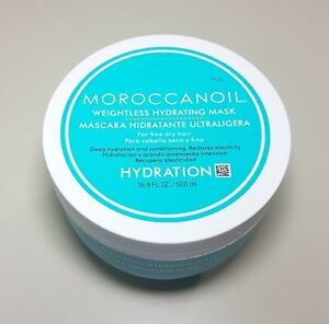 Moroccanoil Weightless Hydrating Mask ~ For Fine Dry Hair ~ 16.9 FL OZ ~ NWOB