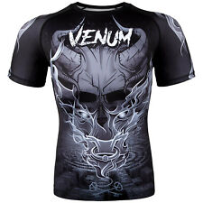 VENUM MINOTAURUS SHORT SLEEVE RASHGUARD - GREY - SMALL