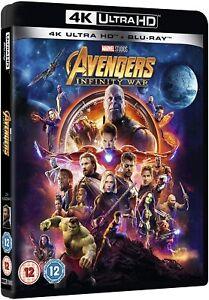 Marvel Studios Avengers : Infinity War  (4k Ultra HD + Blu-ray) Robert Downey Jr
