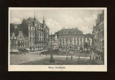 Germany BONN Marktplatz c1900s PPC