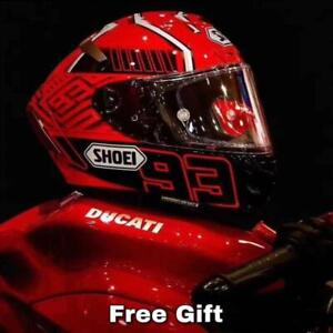 Original Full Face Motorcycle Red Helmet X14 Marquez Motocross Racing Marc Moto