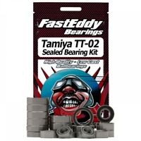 Fast Eddy Bearings Tamyia TT-02 Chassis Sealed Bearing Kit (TFE411)