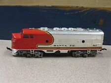 Santa Fe Diesel Locomotive #307 HO Scale Used Free Shipping