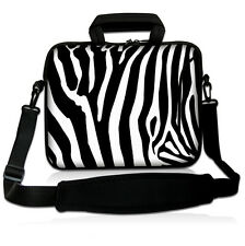 "13"" Zebra Prints Laptop Shoulder Bag Case Sleeve For 13.3"" Apple Macbook Pro,Air"