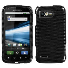 For MB865 Atrix 2 Carbon Fiber Hard Snap On Phone Protector Cover Case