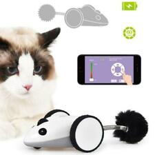 Cat Funny Electric Mouse Racer Automatic Irregular Moving 360° Rotation Pet Toy