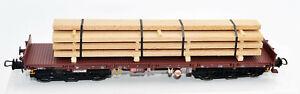 SH NPE- Modellbau NW22410-2 Schwerlastwagen mit Echtholz  DBAG   6 293-3