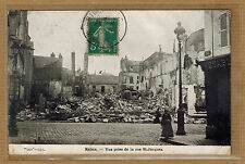 Cpa Reims - vue prise de la rue Saint Jacques wn004