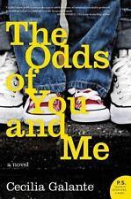 The Odds of You and Me: A Novel, Galante, Cecilia  Book