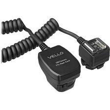 Vello TTL-Off-Camera Flash Cord for Canon EOS - 6.5' (2 m)