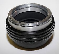 Rollei Rolleiflex SL66 Lens to Leica S S2 Camera Focusing Helicoid Adapter