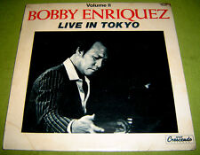 PHILIPPINES:BOBBY ENRIQUEZ - Live! In Tokyo 2 LP OPM rare Jazz Fussion,Filipino,