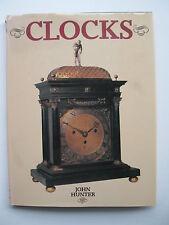 Oversize book on rare CLOCKS by John Hunter Horology, early history, rare items