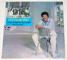 Philippines LIONEL RICHIE Can't Slow Down LP Record
