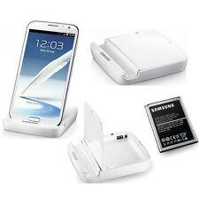 Original Samsung Galaxy 2 N7100 Escritorio Note II Note Soporte Cargador De Batería