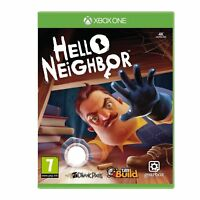 NEW & SEALED! Hello Neighbor Microsoft XBox One Game
