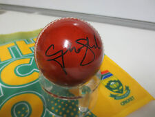 Graeme Smith (South Africa) signed Red Cricket Ball + COA & photo proof