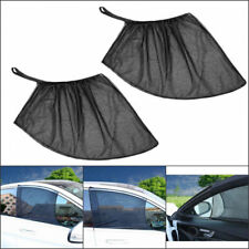 2x Car Front Side Window Sun Visor Shade Mesh Cover Shield Sunshade UV Protector