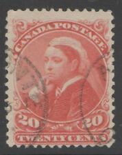 CANADA SG115 1893 20c VERMILION FINE USED