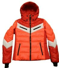 Bogner Fire+Ice Ladies Farina D Ski Jacket Red White Orange Size 36 S