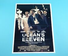 DOUBLE SIDED FOLDOUT POSTER OCEAN'S ELEVERN / CHRISTINA MILIAN 2001 HITKRANT