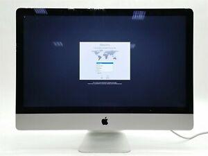 "APPLE iMAC 27"" CORE i7-4771 3.5GHz 32GB RAM 1TB MF125LL/A LATE 2013 OSX 10.10"