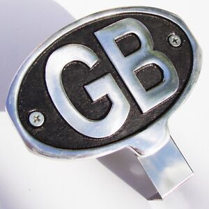 GB Sign Great Britain Country Cast Sign for VW MG Triumph BMW Jaguar AAC065