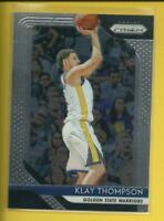 Klay Thompson 🏀 2018-19 Panini Prizm Card ⭐ Golden State Warriors Basketball