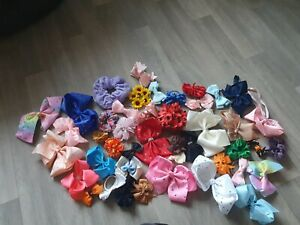 Girls Hair Bows, Bobbles, Clip In, Head Bands