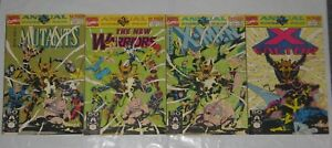 4 x Marvel Annual Comics - Parts 1, 2, 3, 4  - Kings Of Pain - 1990s - VGC