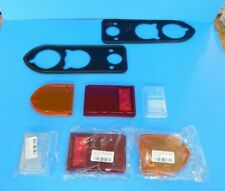 New Tail Lamp Light Reverse Lens Kit W/ Rubber Gaskets Triumph Spitfire 1971-80